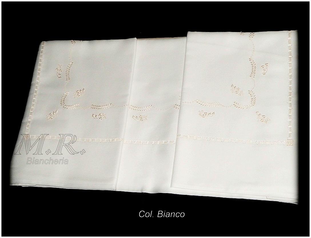 Lenzuola Di Seta Opinioni coppia lenzuola raso bianco ricamo con filo di seta