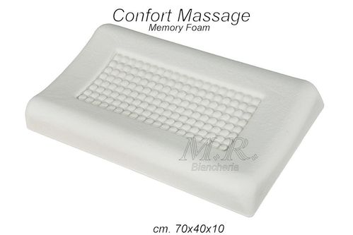 CUSCINO MEMORY VISCO MIND CONFORT MASSAGE CERVICALE