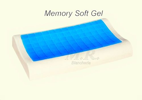CUSCINO MEMORY SOFT GEL CERIVICAL ALTEZZA 10 FODERA BAYSCENT